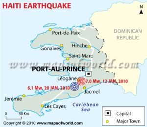 Haiti Earthquake Maps Of World