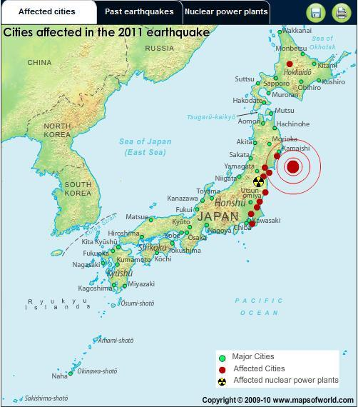 Japan Earthquake Map Today.Rentgolfchenpunch Map Of Japan Earthquake 2011